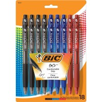 Bic BU3  Ballpoint Retractable Pens